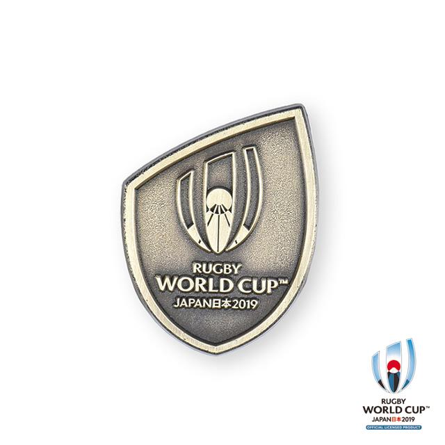 ラグビーワールドカップ2019(TM) 公式ライセンス ピンバッジ(ゴールド)