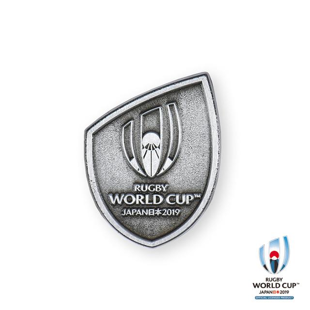 ラグビーワールドカップ2019(TM) 公式ライセンス ピンバッジ(シルバー)