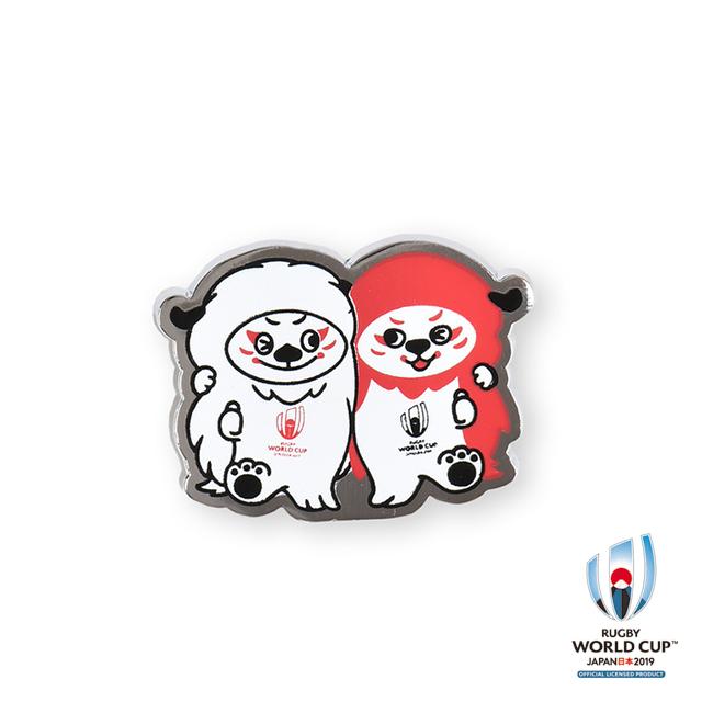 ラグビーワールドカップ2019(TM) 公式ライセンス ピンバッジ(レンジー)