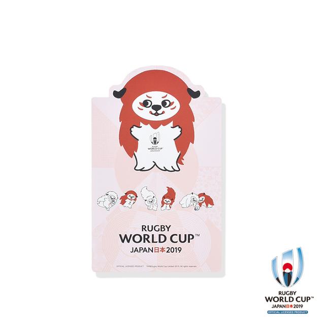 ラグビーワールドカップ2019(TM) 公式ライセンス 下敷き レンジーB