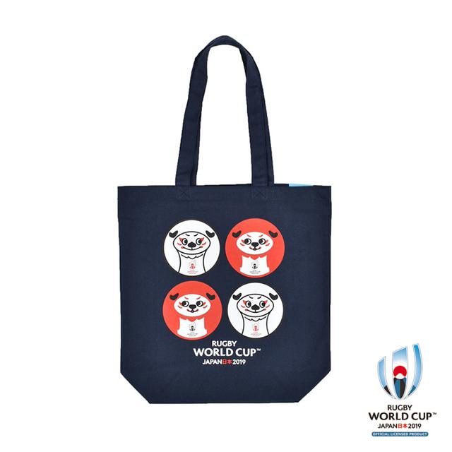 ラグビーワールドカップ2019(TM) 公式ライセンス トートバックM (レンジー)