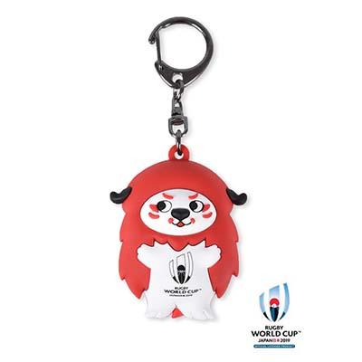 ラグビーワールドカップ2019(TM) 公式ライセンス レンジー3Dキーリング2種(レン・ジー)