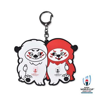 ラグビーワールドカップ2019(TM) 公式ライセンス ラバーキーリング横(レンジー)