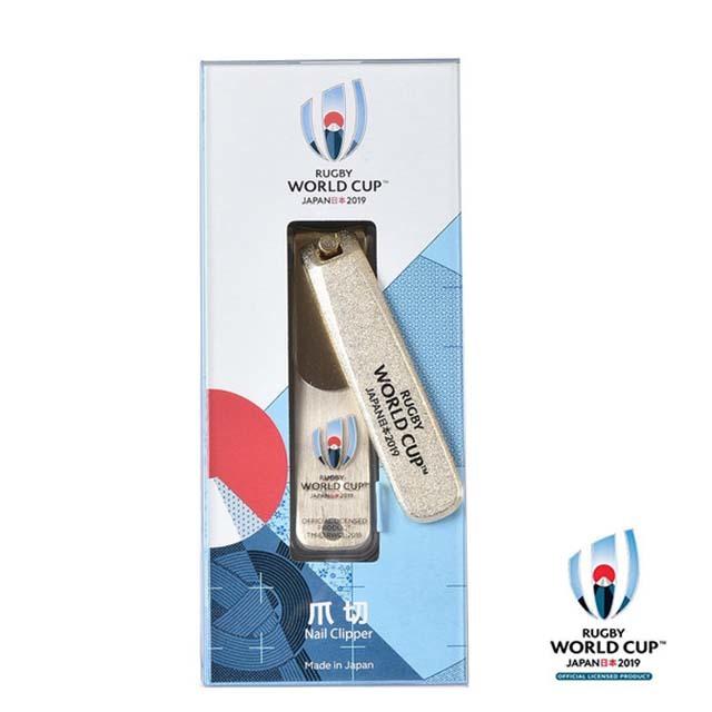 ラグビーワールドカップ2019(TM) 公式ライセンス 爪切 ゴールド イベントマーク