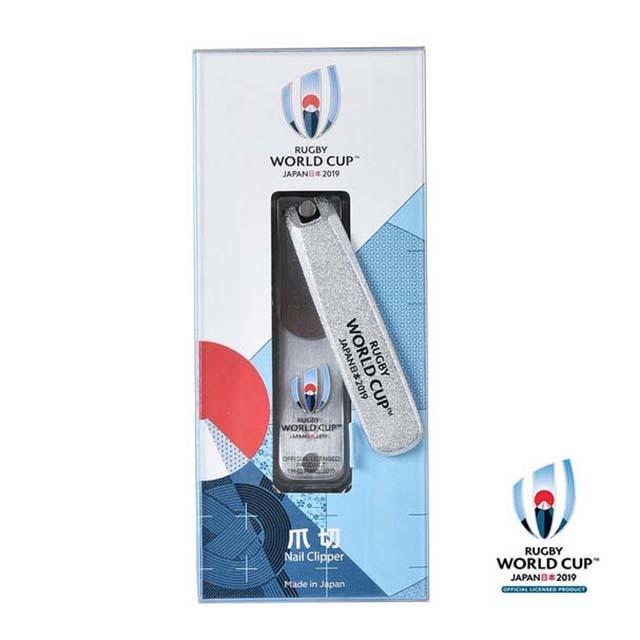 ラグビーワールドカップ2019(TM) 公式ライセンス 爪切 シルバー イベントマーク
