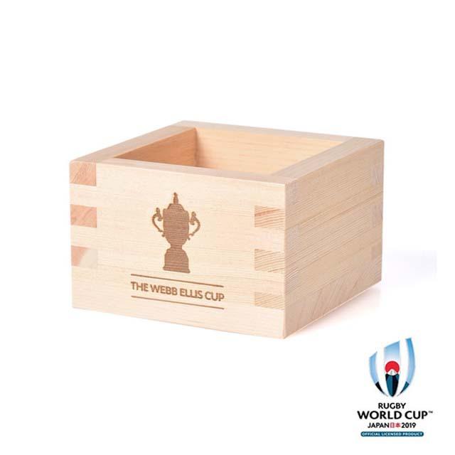 ラグビーワールドカップ2019(TM) 公式ライセンス 一合枡 ウェブ・エリス・カップ