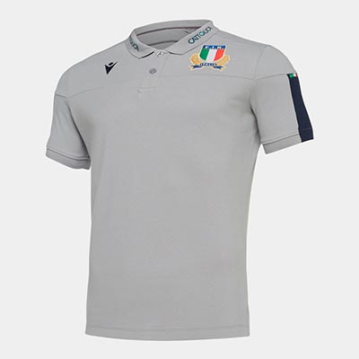 イタリア代表 19/20 ラグビーポロシャツ