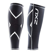 2XU コンプレッション カーフガード ブラックxホワイト