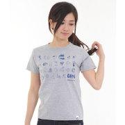 グリフィン GRFN NZ ICONS Tシャツ グレー 【女性&子供用】