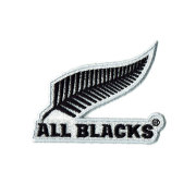 オールブラックス 刺繍ステッカー ブラック