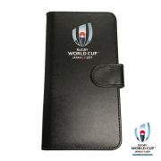 ラグビーワールドカップ2019 オフィシャル iPhone X ケース 手帳型(ブラック)