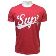 SUP2 Tシャツ Vintage レッド