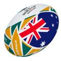 ギルバート製 RWC2019 オーストラリア フラッグボール ミニ