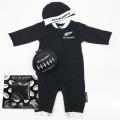 オールブラックス 赤ちゃん用 3Piece ギフトボックス ブラック