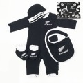 オールブラックス 赤ちゃん用 4Piece ギフトボックス ブラック