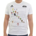 adidas Rugby STAR WARS 8BIT LINE UP Tシャツ