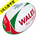 【5月事前予約商品】ギルバート製 RWC2019 ウェールズ サポーターボール