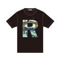 GRFN×JM R Tシャツ ブラック