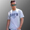 グリフィン GRFN ロゴTシャツ グレー