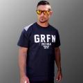 グリフィン GRFN ロゴTシャツ ネイビー