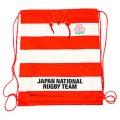 ラグビー日本代表 オフィシャル スウェット生地ナップサック