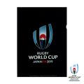 ラグビーワールドカップ2019 オフィシャル クリアファイル(ブラック)
