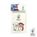 ラグビーワールドカップ2019 オフィシャル メモ帳(レンジー)