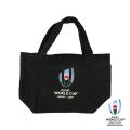 ラグビーワールドカップ2019 オフィシャル トートバッグ S (ブラック)