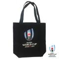 ラグビーワールドカップ2019 オフィシャル トートバッグ M (ブラック)