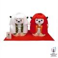 ラグビーワールドカップ2019 オフィシャル Ren-G(レンジー)木目込人形