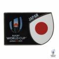 ラグビーワールドカップ2019 オフィシャルピンバッジ(ジャパン)