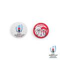 ラグビーワールドカップ2019 オフィシャル ボタン缶バッジ2個セット 【全3種】