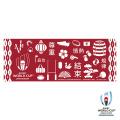 ラグビーワールドカップ2019 オフィシャル 手ぬぐい(絵柄ならべ)