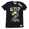 SUP2 Tシャツ Fantasy Islnad ブラック