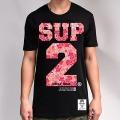 SUP2 Japan Retro Tシャツ ブラック