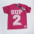 SUP2 Mesh 子供用Tシャツ ピンク