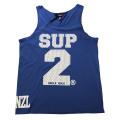 SUP2 シングレット Mesh ブルー×ホワイト