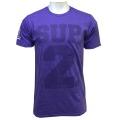 SUP2 Big Block Tシャツ パープル