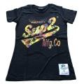 SUP2 VINTAGE 女性用Tシャツ ブラック