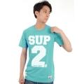 SUP2 Tシャツ Mesh ミント