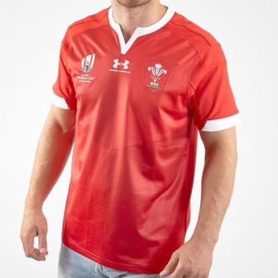 ウェールズ代表 RWC2019 ホームジャージ