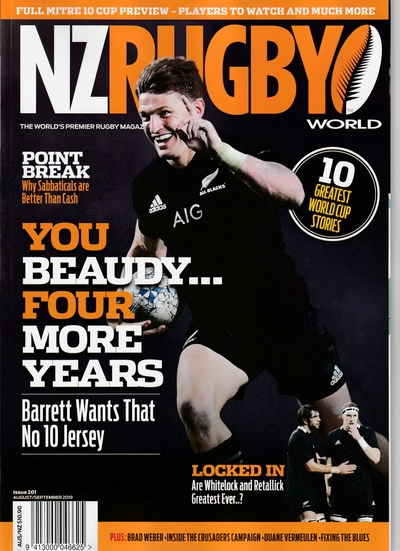 NZ RUGBY 2019年8月9月号 No.201
