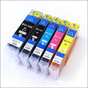 BCI-350XL/351XL(5色セット)