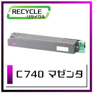 C740(マゼンタ)リコー再生トナー