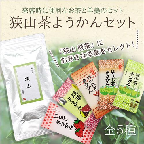 狭山 煎茶+ようかんセット