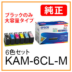 KAM-6CL-M(6色セット)カメ