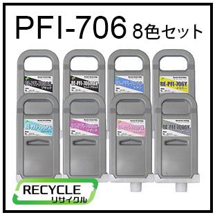 PFI-706(8色セット)