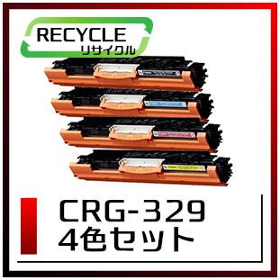キヤノン カートリッジ329(4色セット)即納再生品 <宅配配送商品>