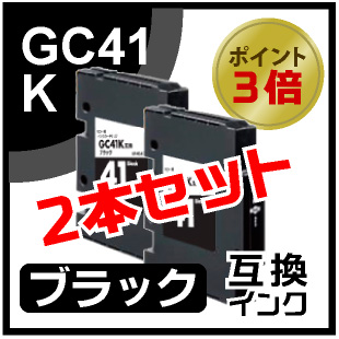 GC41K(ブラック)2本セット