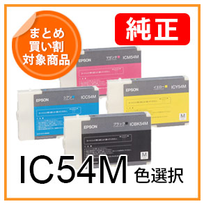 IC54M(色選択)EPSON純正インク
